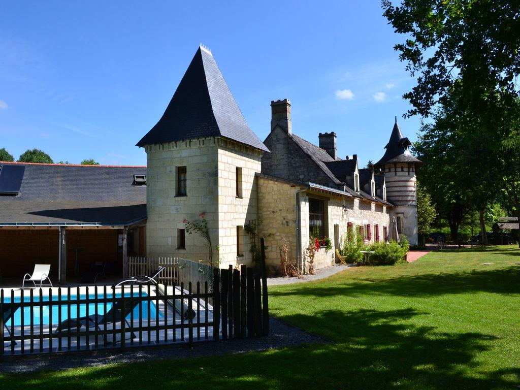 Ferienhaus Gemütliches Ferienhaus in Brion mit Schwimmbad (1658624), Beaufort en Vallée, Maine-et-Loire, Pays de la Loire, Frankreich, Bild 26