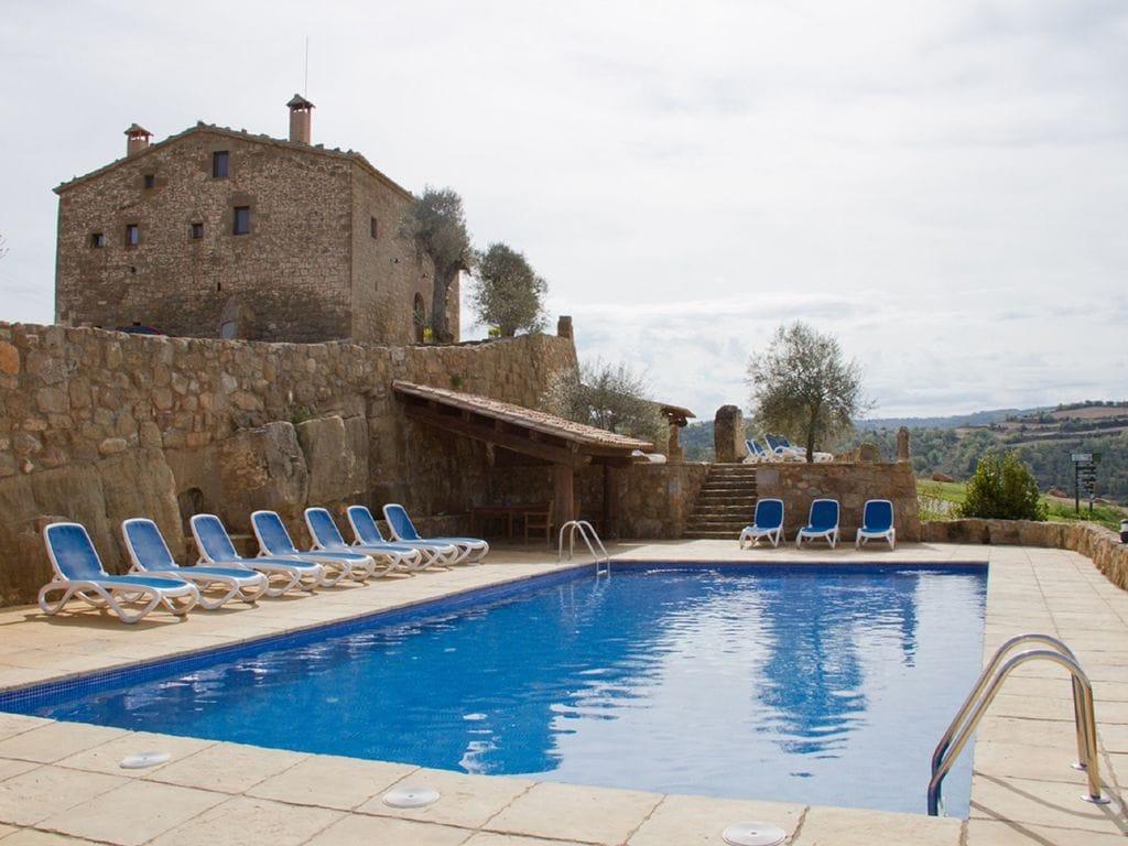 Ferienhaus Denkmalgeschützte Villa in Lloberola mit Swimmingpool (1657581), Sanauja, Lleida, Katalonien, Spanien, Bild 4