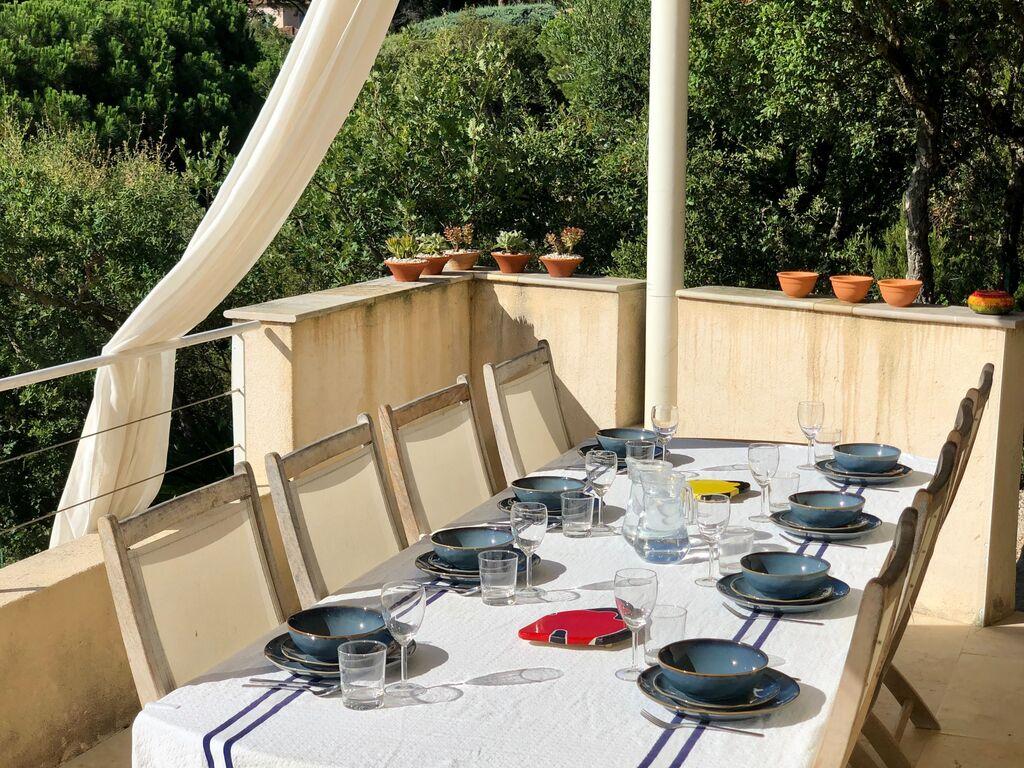 Ferienhaus Luxuriöse Villa bei La Croix-Valmer mit Blick aufs Meer (1658019), La Croix Valmer, Côte d'Azur, Provence - Alpen - Côte d'Azur, Frankreich, Bild 4