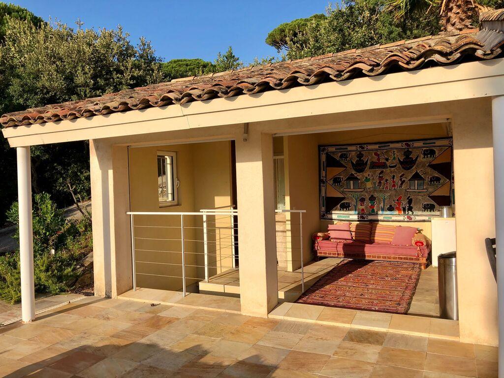 Ferienhaus Luxuriöse Villa bei La Croix-Valmer mit Blick aufs Meer (1658019), La Croix Valmer, Côte d'Azur, Provence - Alpen - Côte d'Azur, Frankreich, Bild 8