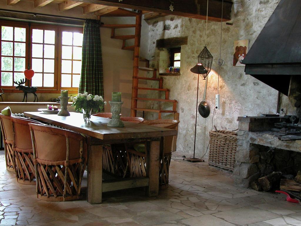 Ferienhaus Gemütliches Ferienhaus mit Privatpool im Burgund, Frankreich (1657813), Saint Honoré les Bains, Nièvre, Burgund, Frankreich, Bild 14