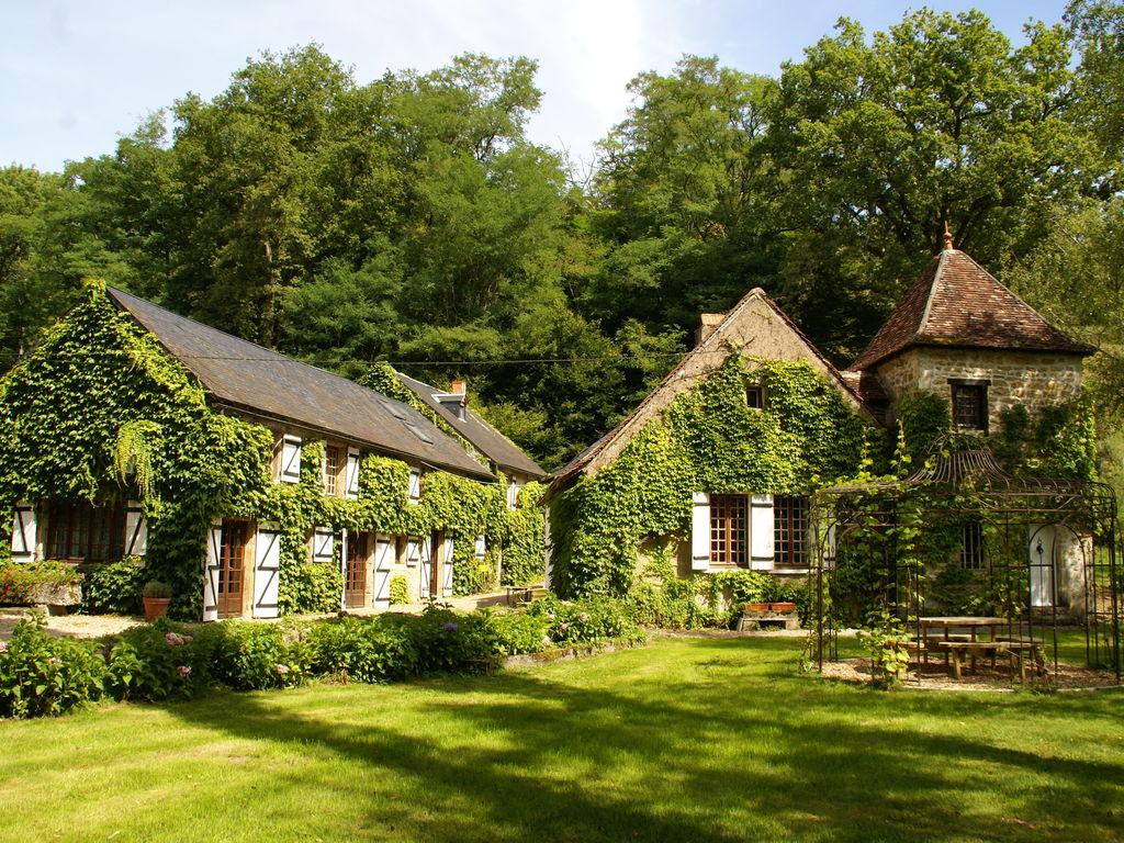 Ferienhaus Gemütliches Ferienhaus mit Privatpool im Burgund, Frankreich (1657813), Saint Honoré les Bains, Nièvre, Burgund, Frankreich, Bild 3