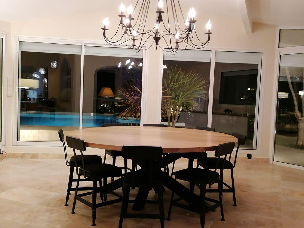 Ferienhaus Gemütliche Villa in Narbonne mit eigenem Pool und Whirlpool (1657720), Narbonne, Mittelmeerküste Aude, Languedoc-Roussillon, Frankreich, Bild 38