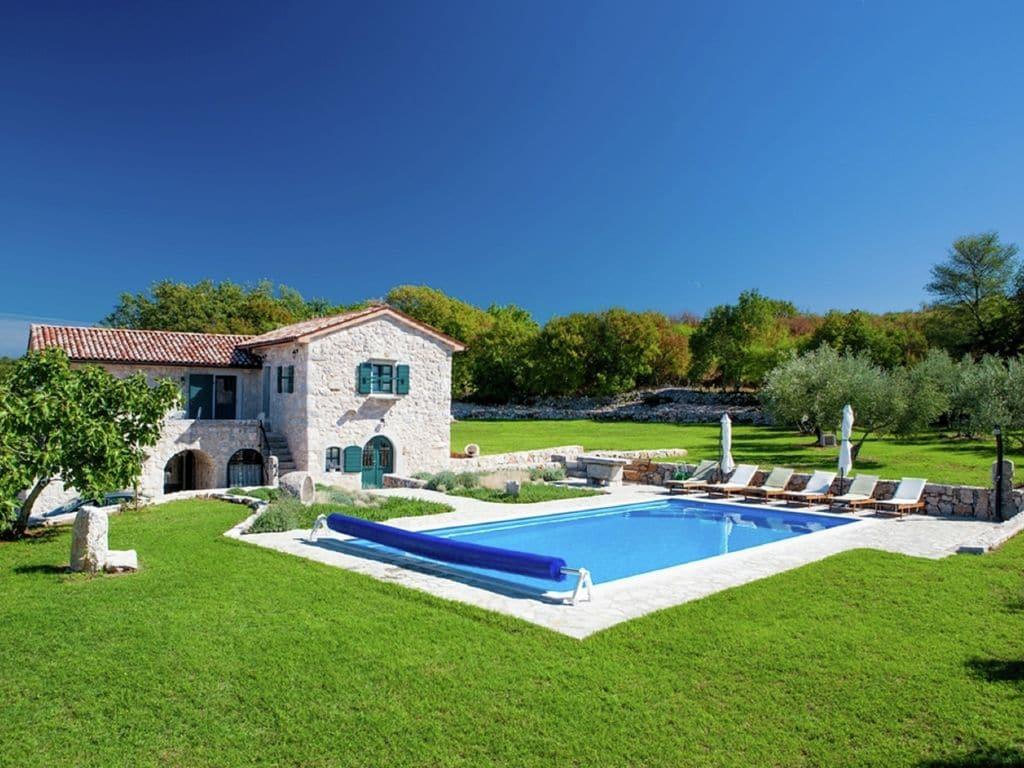 Ferienhaus Eine auth. Steinvilla im Grünen Paradies von Strilcici (256341), Vantačići, Insel Krk, Kvarner, Kroatien, Bild 2