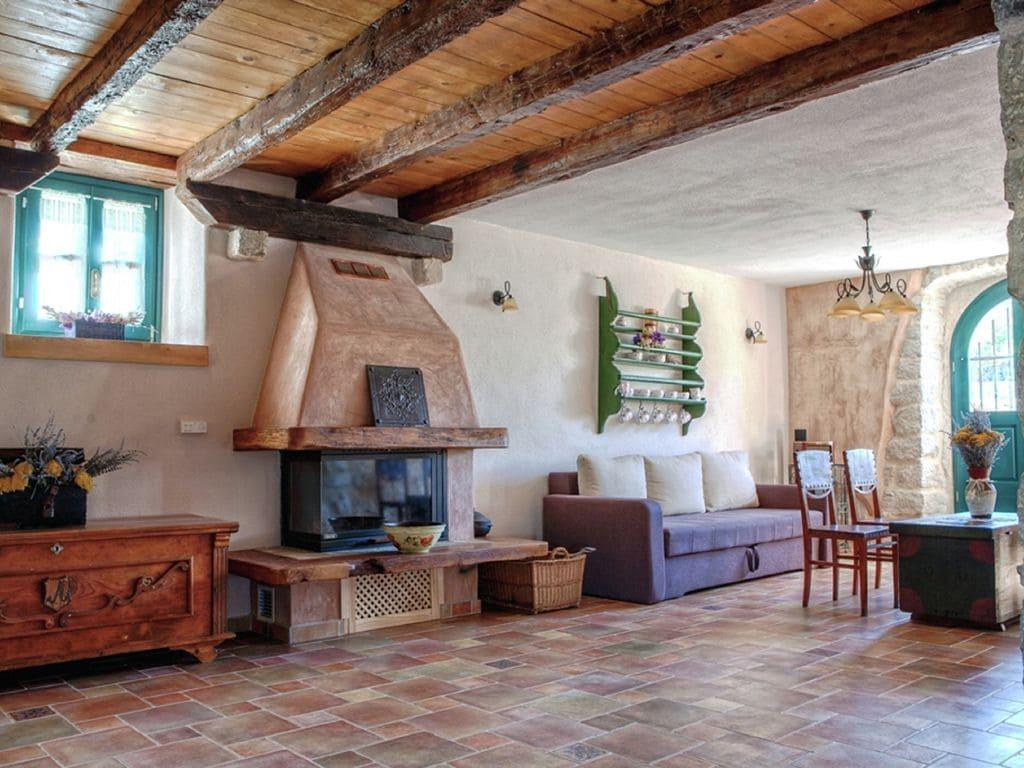 Ferienhaus Eine auth. Steinvilla im Grünen Paradies von Strilcici (256341), Vantačići, Insel Krk, Kvarner, Kroatien, Bild 7
