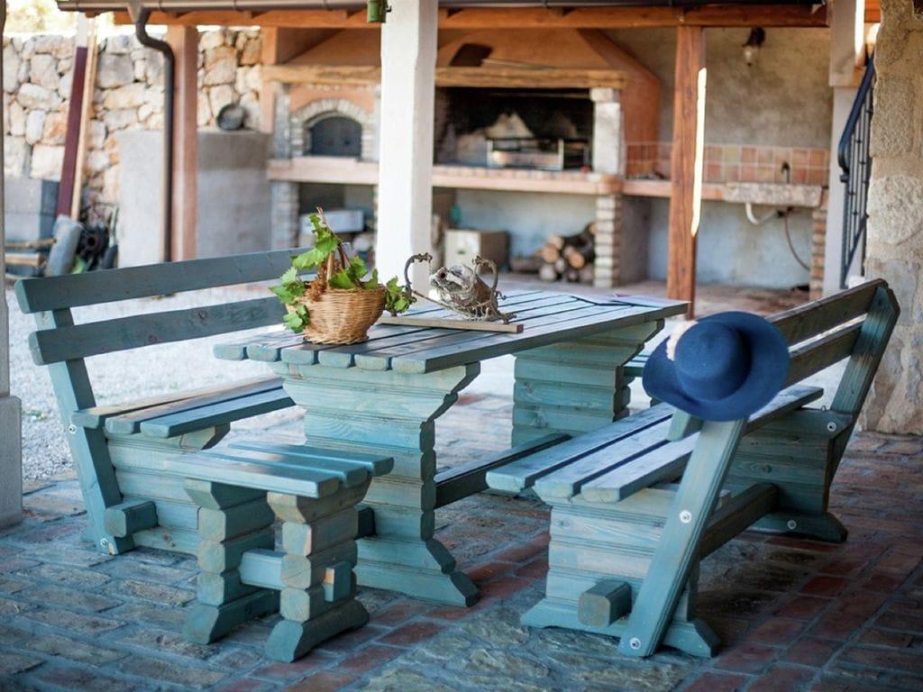 Ferienhaus Eine auth. Steinvilla im Grünen Paradies von Strilcici (256341), Vantačići, Insel Krk, Kvarner, Kroatien, Bild 22