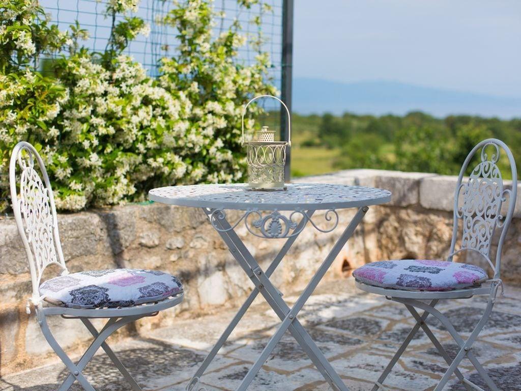 Ferienhaus Eine auth. Steinvilla im Grünen Paradies von Strilcici (256341), Vantačići, Insel Krk, Kvarner, Kroatien, Bild 32