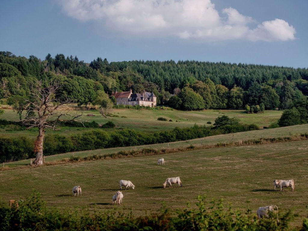 Ferienhaus Gemütliches Schloss in Onlay mit Swimmingpool (1882606), Villapourçon, Nièvre, Burgund, Frankreich, Bild 20