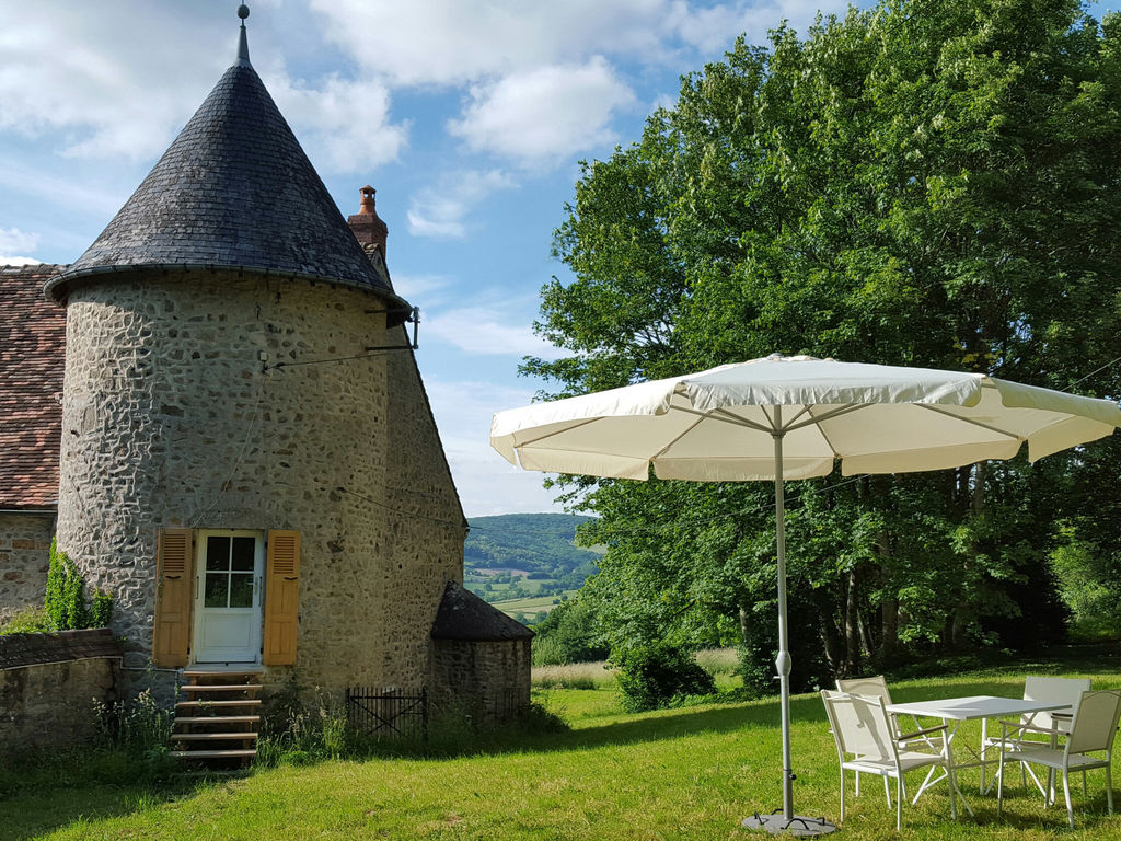 Ferienhaus Gemütliches Schloss in Onlay mit Swimmingpool (1882606), Villapourçon, Nièvre, Burgund, Frankreich, Bild 2
