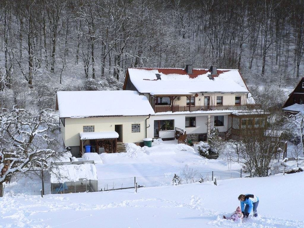 Ruhiges Ferienhaus in Korbach mit Dachterrasse Ferienhaus in Deutschland