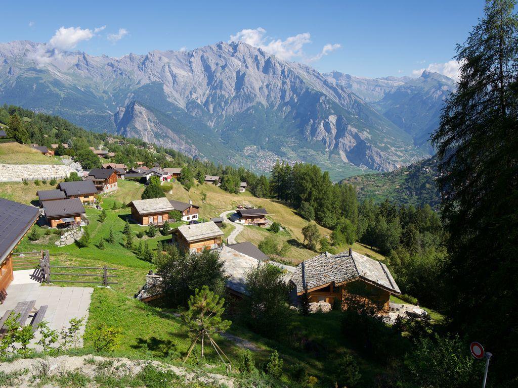 Ferienhaus Idyllisches Ferienhaus in La Tzoumaz nahe dem Skigebiet (2284195), Mayens-de-Riddes, 4 Vallées, Wallis, Schweiz, Bild 5