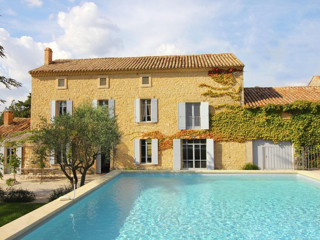 Holiday house Luxuriöses Mas mit privatem Pool am Fuße des Mont Ventoux (2007891), Carpentras, Vaucluse, Provence - Alps - Côte d'Azur, France, picture 3