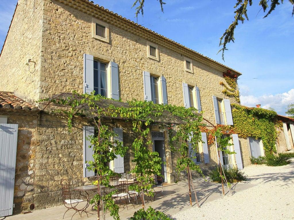 Holiday house Luxuriöses Mas mit privatem Pool am Fuße des Mont Ventoux (2007891), Carpentras, Vaucluse, Provence - Alps - Côte d'Azur, France, picture 4