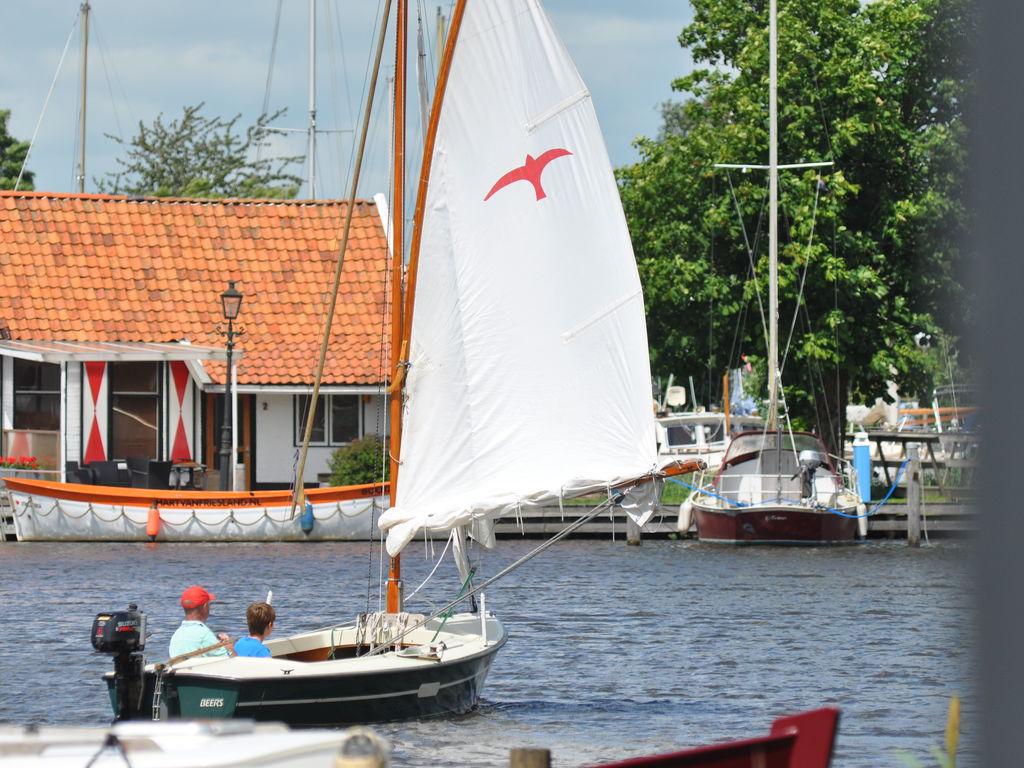 Lytse Oosterhaven I -Optimist Ferienhaus  Friesland