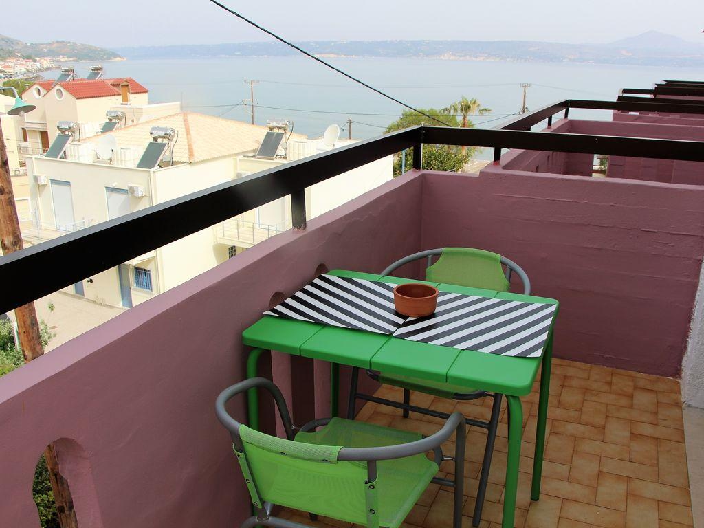 Ferienwohnung Gemütliches Studio-Apartment in Kalyves, Kreta mit Meerblick (2022097), Neon Khorion Kriti, Kreta Nordküste, Kreta, Griechenland, Bild 5