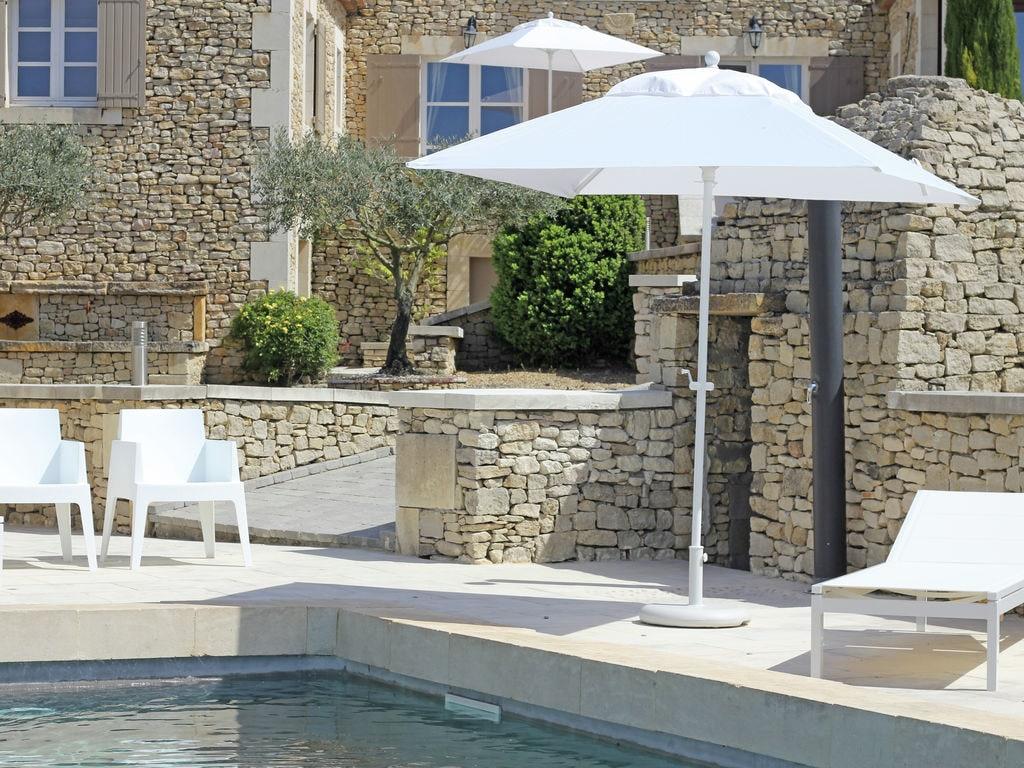 Ferienhaus Schöne, renovierte Bastide mit privatem Pool und Panoramablick, 3 km von Apt (2184826), Apt, Vaucluse, Provence - Alpen - Côte d'Azur, Frankreich, Bild 4