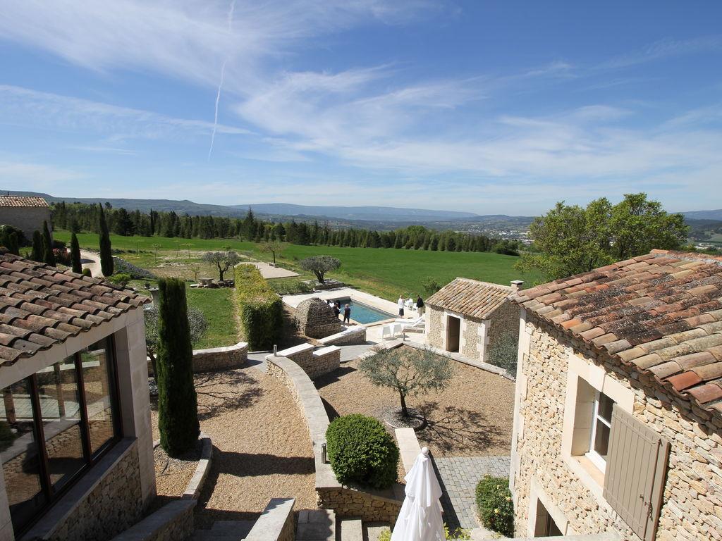 Ferienhaus Schöne, renovierte Bastide mit privatem Pool und Panoramablick, 3 km von Apt (2184826), Apt, Vaucluse, Provence - Alpen - Côte d'Azur, Frankreich, Bild 12