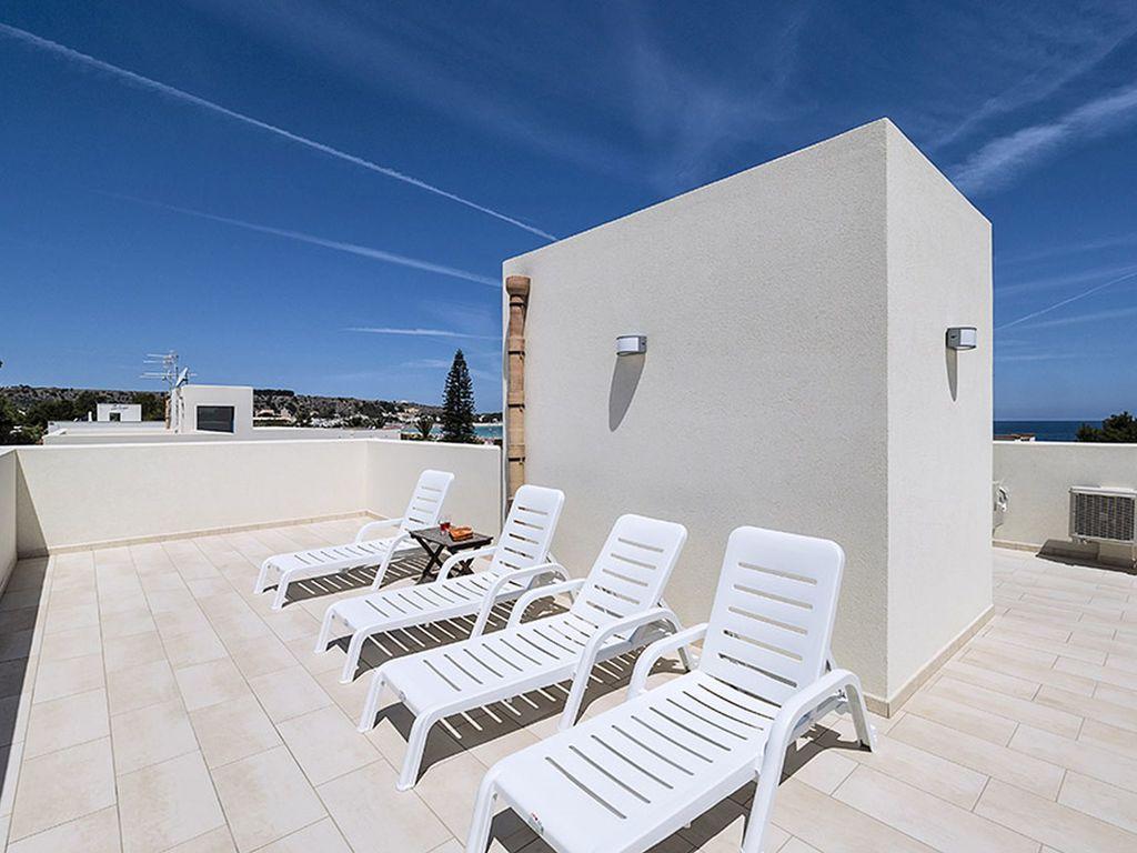Maison de vacances Geräumiges Ferienhaus in San Vito Lo Capo mit Dachterrasse (2030796), San Vito Lo Capo, Trapani, Sicile, Italie, image 1