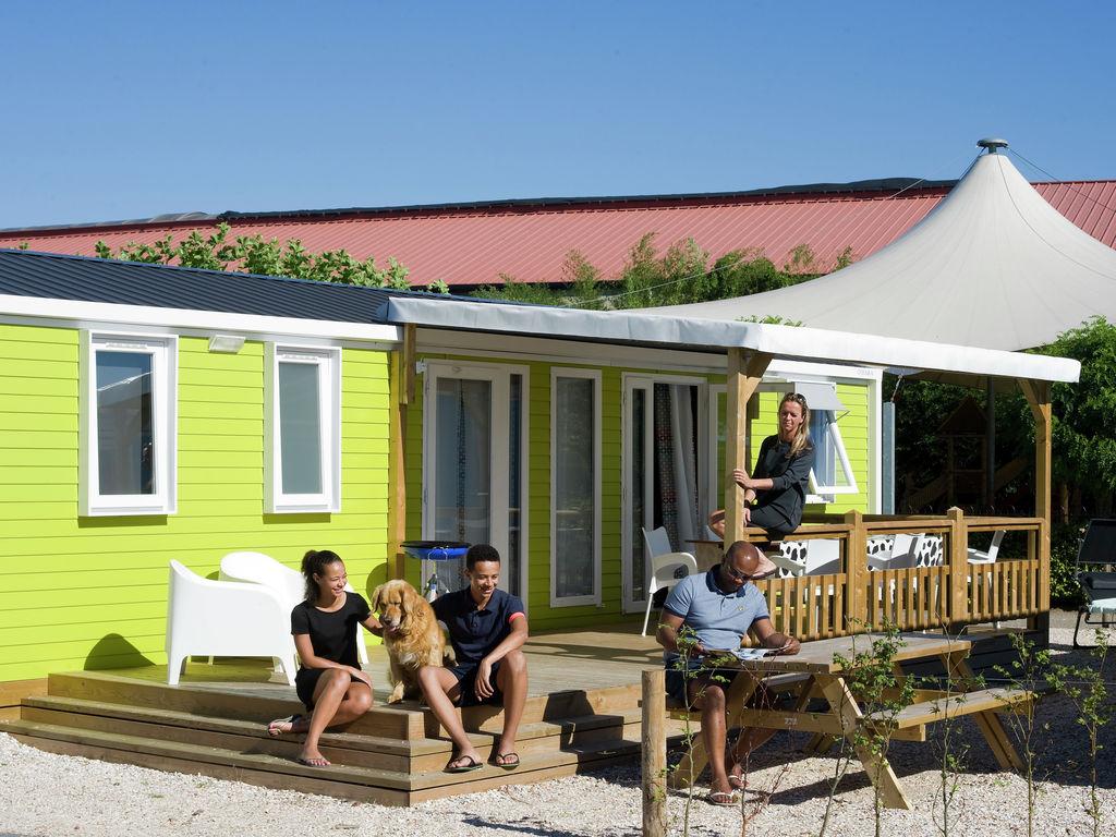 Ferienhaus Farbenfrohes Chalet mit Terrasse, nahe am See und Strand (2061530), Maurik, Rivierenland, Gelderland, Niederlande, Bild 7