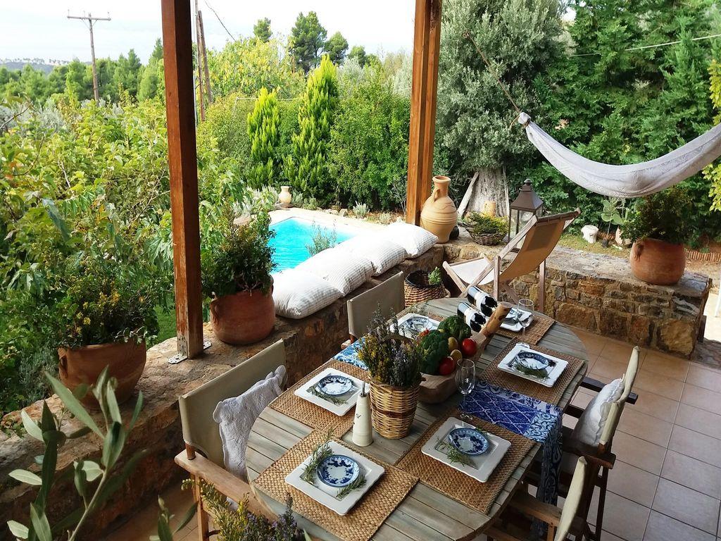 Holiday house Evia Fox House (2084644), Nerotrivia, , Euboea, Greece, picture 26