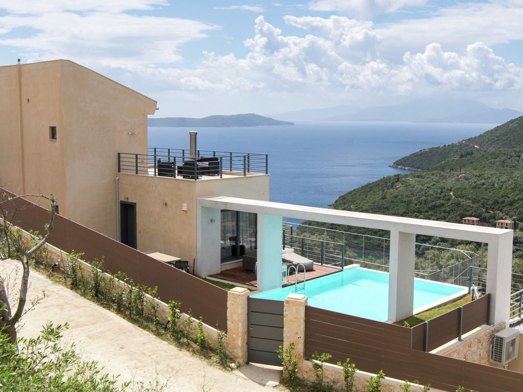 Holiday house Moderne Villa in Sivota mit eigenem Pool (2113453), Vasiliki, Lefkada, Ionian Islands, Greece, picture 1