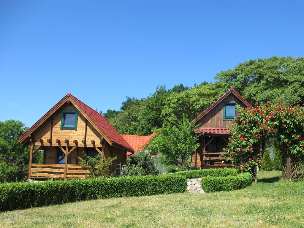 Schönes Ferienhaus in Lubin mit Garten Ferienhaus in Polen