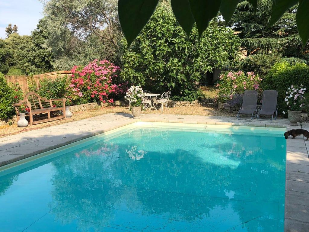 Maison de vacances Hochwertige Villa in Wien mit Schwimmbad (2485293), Saint Martin de Castillon, Vaucluse, Provence - Alpes - Côte d'Azur, France, image 5