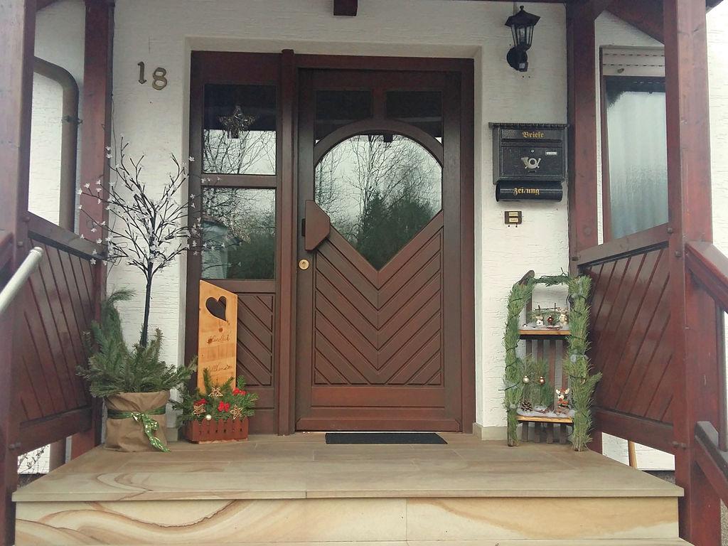Gemütliche Wohnung in Merlsheim mit Garten Ferienwohnung in Nordrhein Westfalen