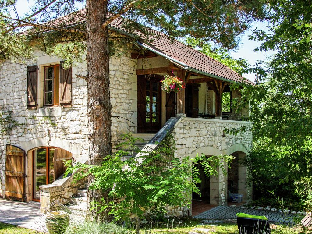 Ferienhaus Ruhiges Ferienhaus in Albas mit Pool (2246175), Luzech, Lot, Midi-Pyrénées, Frankreich, Bild 5