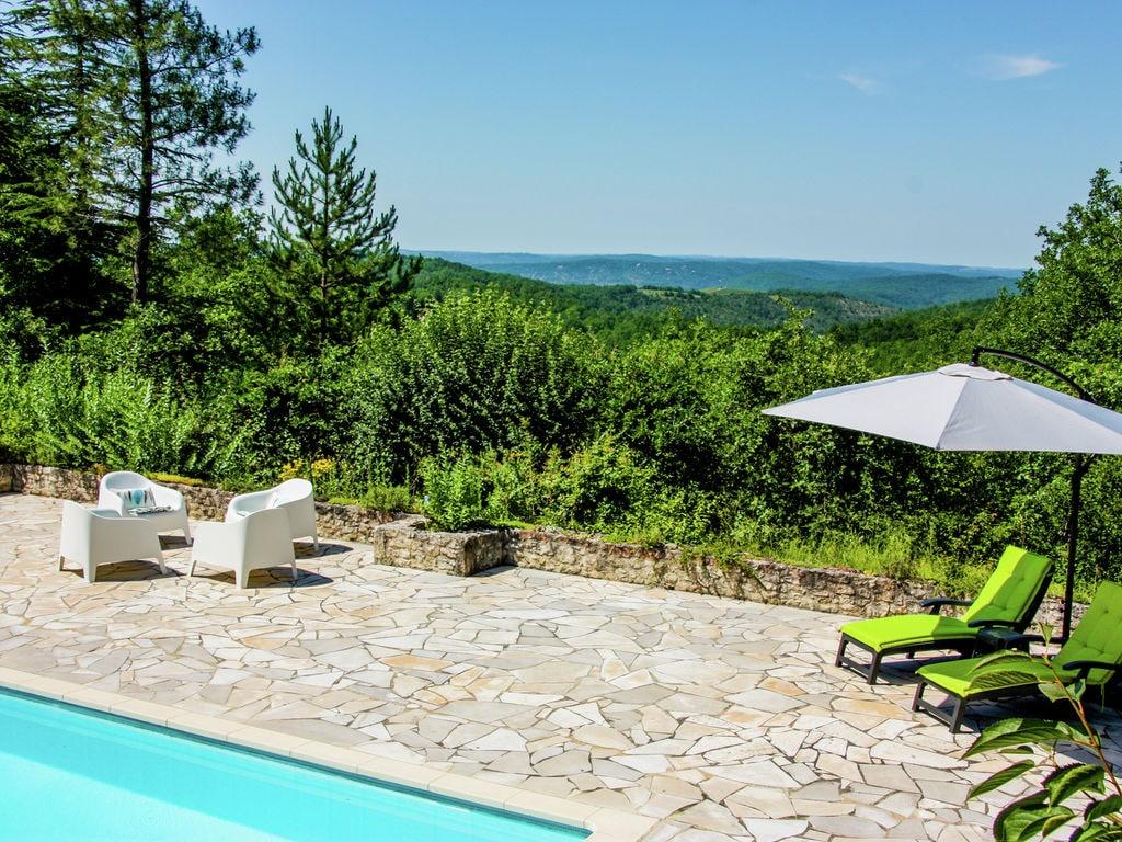 Ferienhaus Ruhiges Ferienhaus in Albas mit Pool (2246175), Luzech, Lot, Midi-Pyrénées, Frankreich, Bild 8