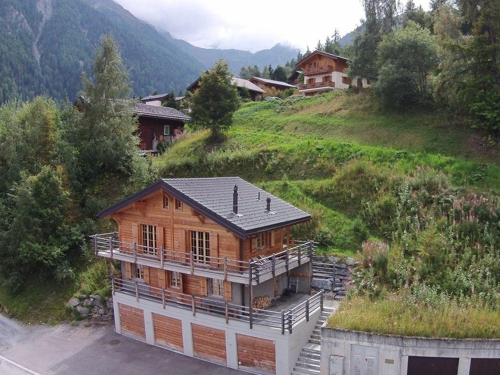 Ferienhaus Gemütliches Chalet in La Tzoumaz mit privater Terrasse (2279131), Mayens-de-Riddes, 4 Vallées, Wallis, Schweiz, Bild 7
