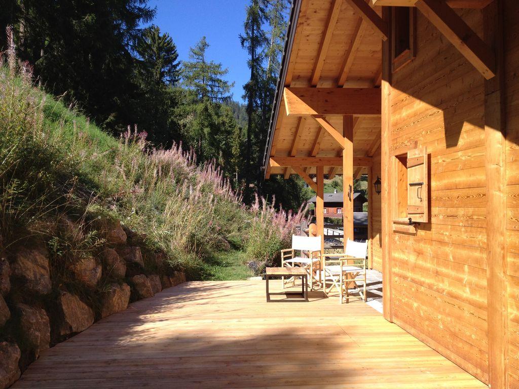 Ferienhaus Gemütliches Chalet in La Tzoumaz mit privater Terrasse (2279131), Mayens-de-Riddes, 4 Vallées, Wallis, Schweiz, Bild 3