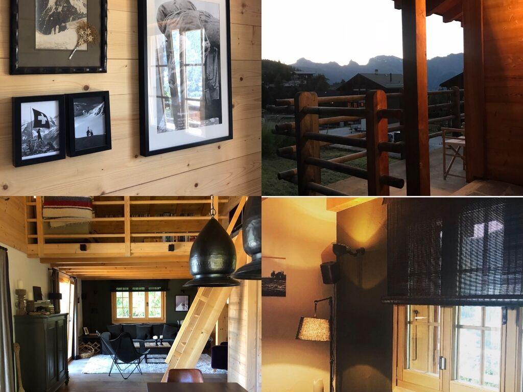 Ferienhaus Gemütliches Chalet in La Tzoumaz mit privater Terrasse (2279131), Mayens-de-Riddes, 4 Vallées, Wallis, Schweiz, Bild 19