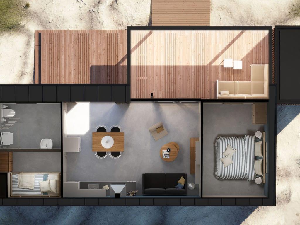Ferienhaus Komfortable Lodge mit Geschirrsp., 900 m. vom Strand entf. (2284200), Hollum, Ameland, Friesland (NL), Niederlande, Bild 11