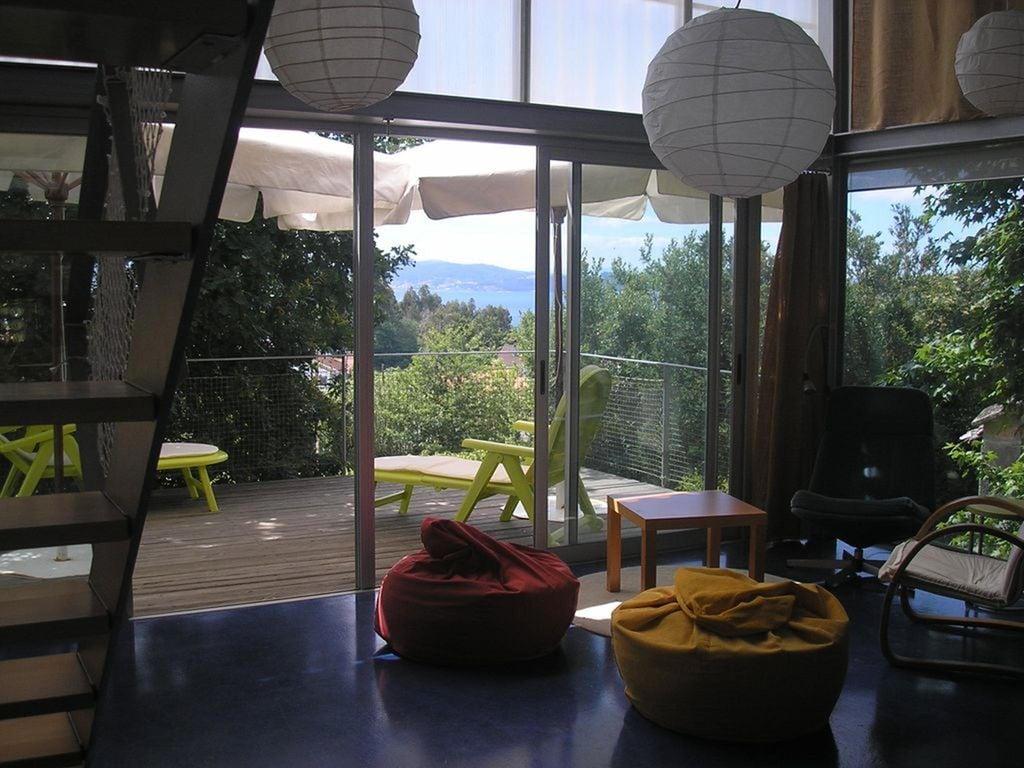 Ferienhaus Modernes Ferienhaus in Padriñán mit Meeresblick (2314606), Simes, Pontevedra, Galicien, Spanien, Bild 24