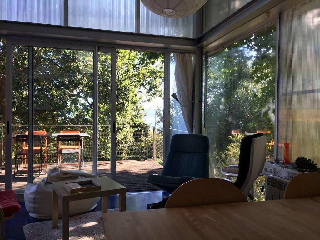 Modernes Ferienhaus in Padriñán mit  Ferienhaus  Galizien