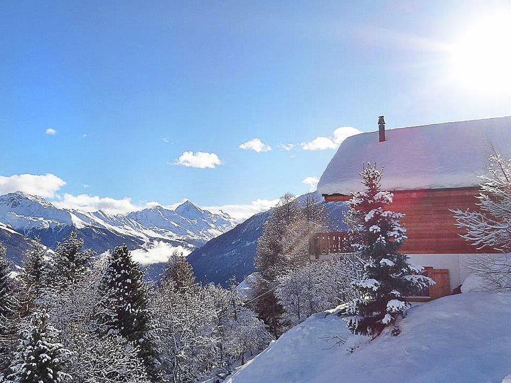 Ferienhaus Komfortables Chalet mit Blick auf die Alpen in Vex (2303936), Thyon-Les Collons, 4 Vallées, Wallis, Schweiz, Bild 4