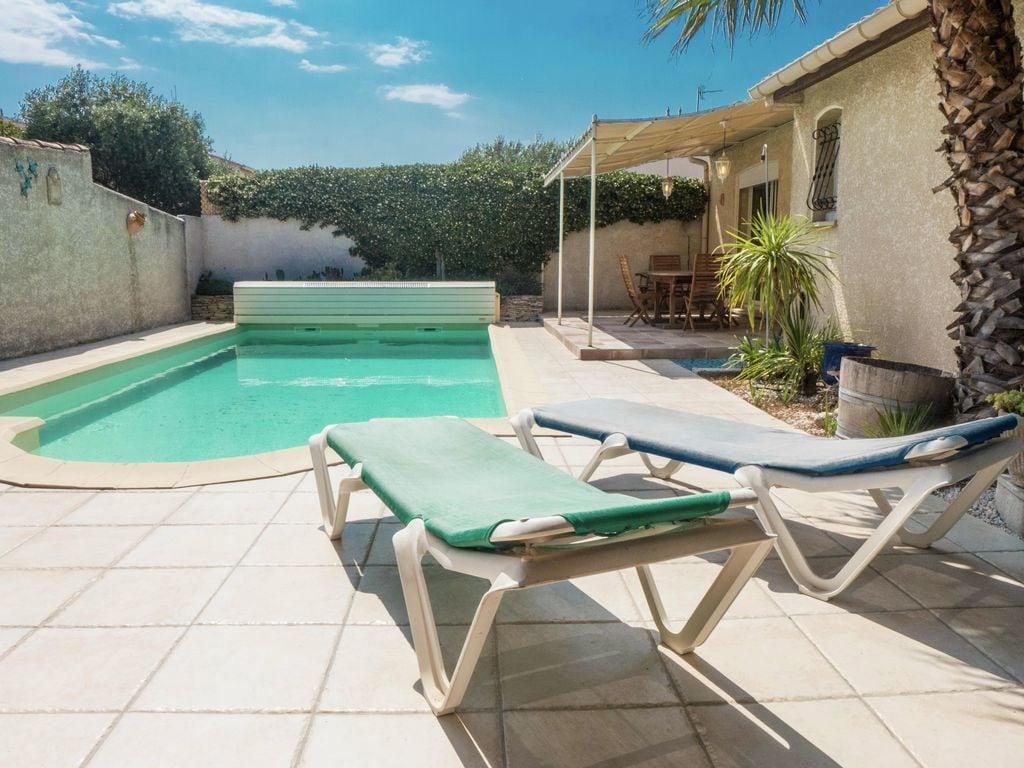 Ferienhaus Fantastisches Ferienhaus mit Swimmingpool in Narbonne (2320456), Narbonne, Mittelmeerküste Aude, Languedoc-Roussillon, Frankreich, Bild 4