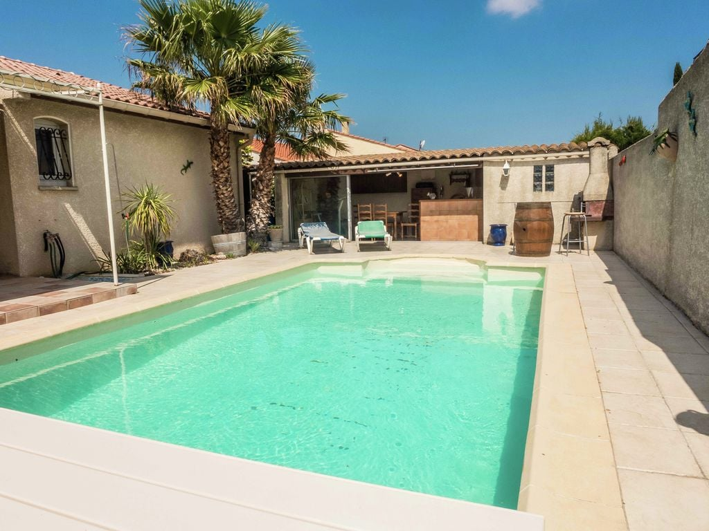 Ferienhaus Fantastisches Ferienhaus mit Swimmingpool in Narbonne (2320456), Narbonne, Mittelmeerküste Aude, Languedoc-Roussillon, Frankreich, Bild 1