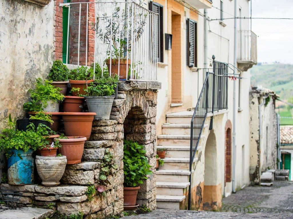 Ferienhaus Haus mit Schwimmbad, Garten und Internet Verbindung im mittelalterlichen Dorf mit Panorama (2356553), Campolieto, Campobasso, Molise, Italien, Bild 19