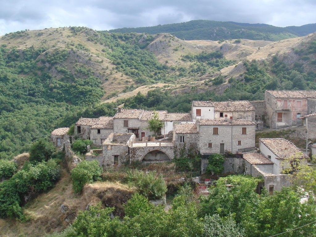 Ferienhaus Haus mit Schwimmbad, Garten und Internet Verbindung im mittelalterlichen Dorf mit Panorama (2356553), Campolieto, Campobasso, Molise, Italien, Bild 26