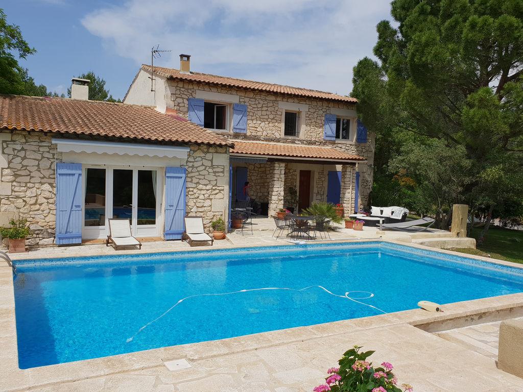 Ferienhaus Villa View Rhône (2362553), Aramon, Gard Binnenland, Languedoc-Roussillon, Frankreich, Bild 2