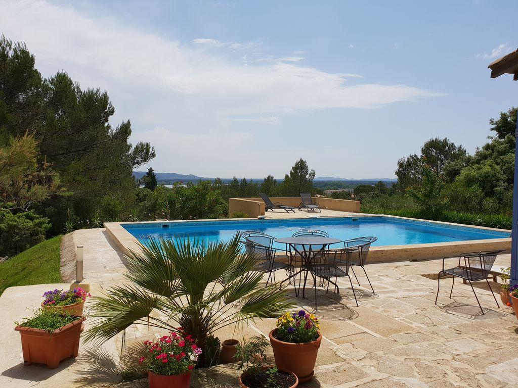 Ferienhaus Villa View Rhône (2362553), Aramon, Gard Binnenland, Languedoc-Roussillon, Frankreich, Bild 6