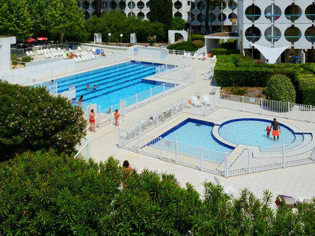 Holiday apartment Residéal Bernard de Ventadour (2357303), La Grande Motte, Mediterranean coast Hérault, Languedoc-Roussillon, France, picture 3