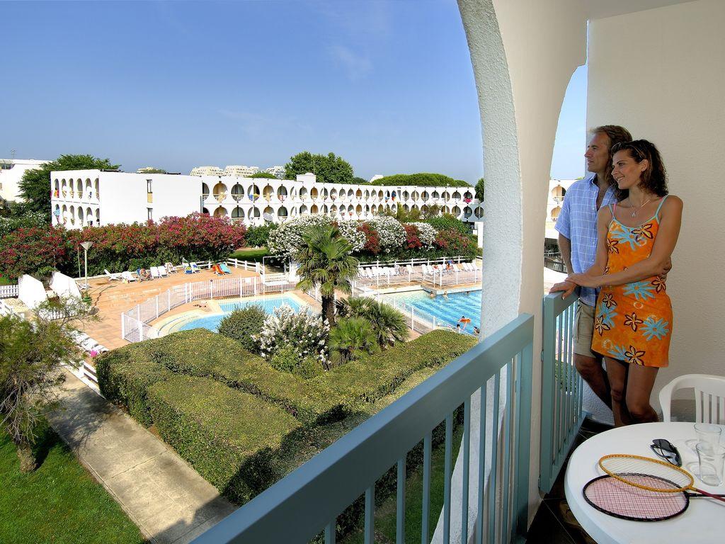 Holiday apartment Residéal Bernard de Ventadour (2357303), La Grande Motte, Mediterranean coast Hérault, Languedoc-Roussillon, France, picture 8