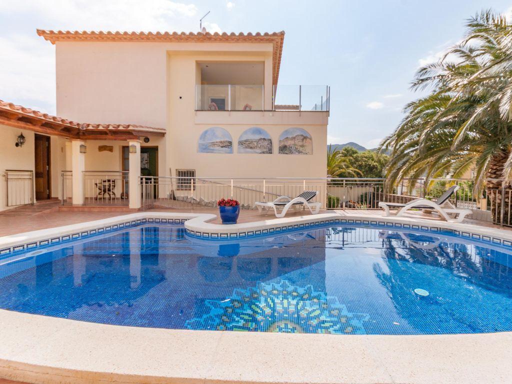 Ferienhaus Moderne Villa in Roses mit privatem Pool (2432165), El Mas Fumats, Costa Brava, Katalonien, Spanien, Bild 1