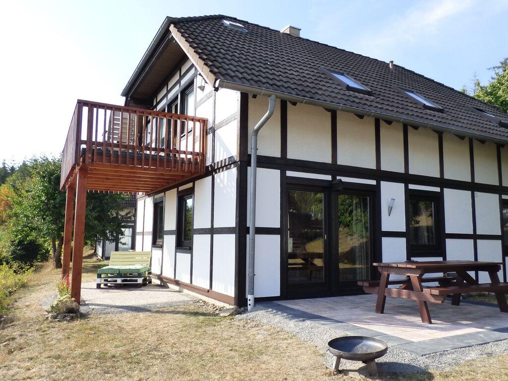 Ferienwohnung Modernes Apartment in Hessen am Waldrand (2413432), Frankenau, Waldecker Land, Hessen, Deutschland, Bild 1