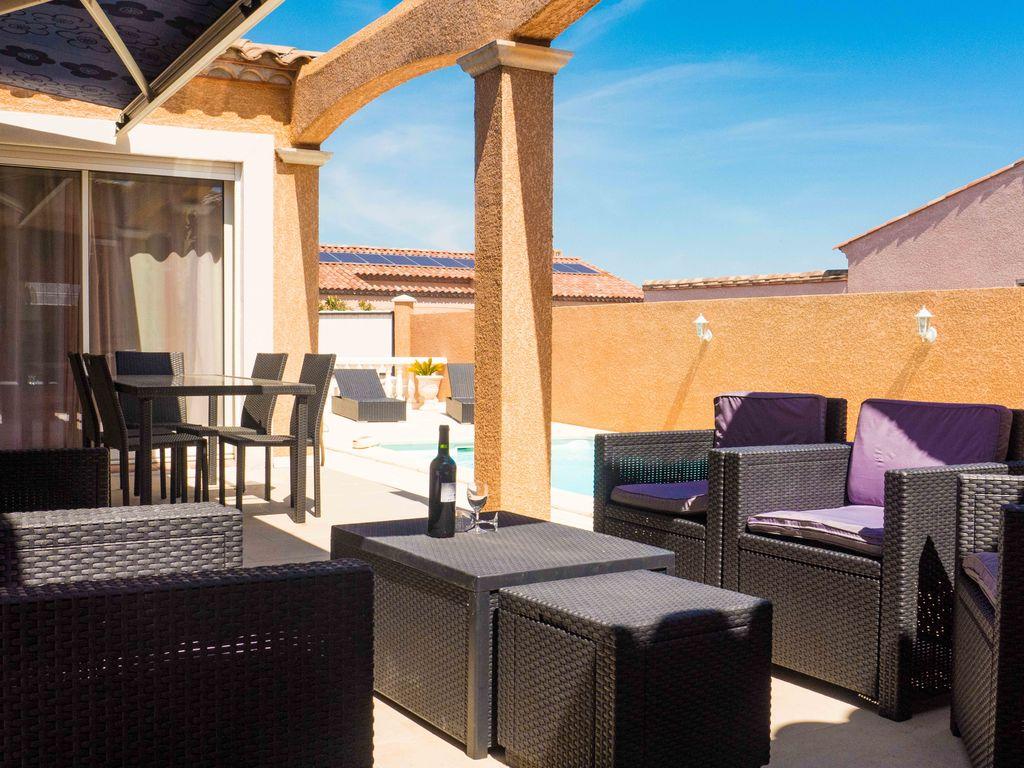 Ferienhaus Prachtvolle Villa mit Swimmingpool in Sallèles-d'Aude (2424315), Cuxac d'Aude, Mittelmeerküste Aude, Languedoc-Roussillon, Frankreich, Bild 16