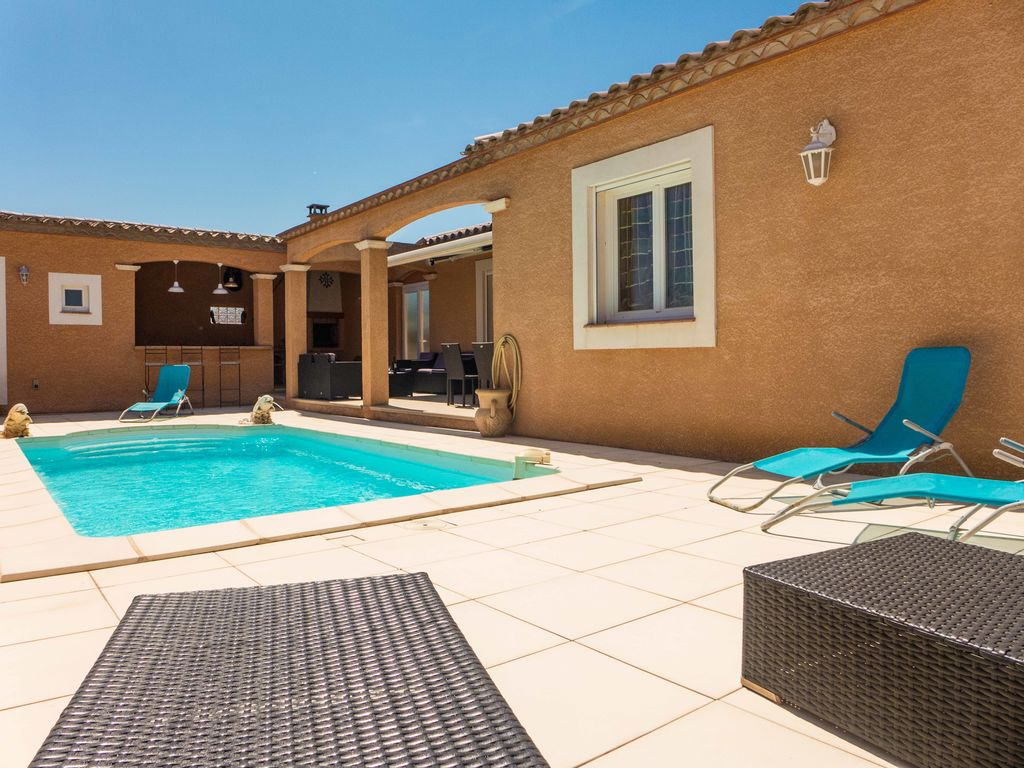Ferienhaus Prachtvolle Villa mit Swimmingpool in Sallèles-d'Aude (2424315), Cuxac d'Aude, Mittelmeerküste Aude, Languedoc-Roussillon, Frankreich, Bild 2