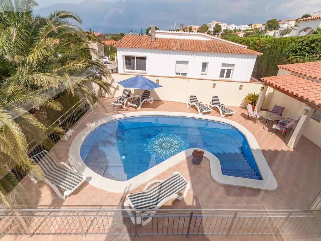 Ferienhaus Gemütliche Villa in Roses mit eigenem Pool (2432164), El Mas Fumats, Costa Brava, Katalonien, Spanien, Bild 5